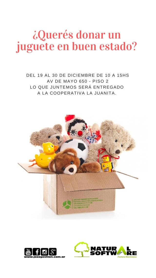 dona un juguete 19.12.2019